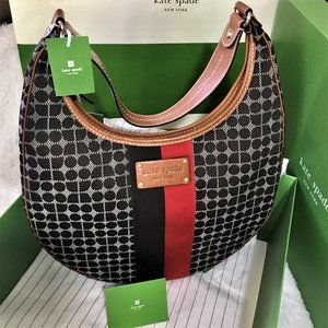 Authentic Classic Kate Spade Noel Chocolate Bag